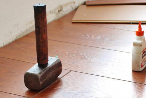 Renoveren van de vloeren