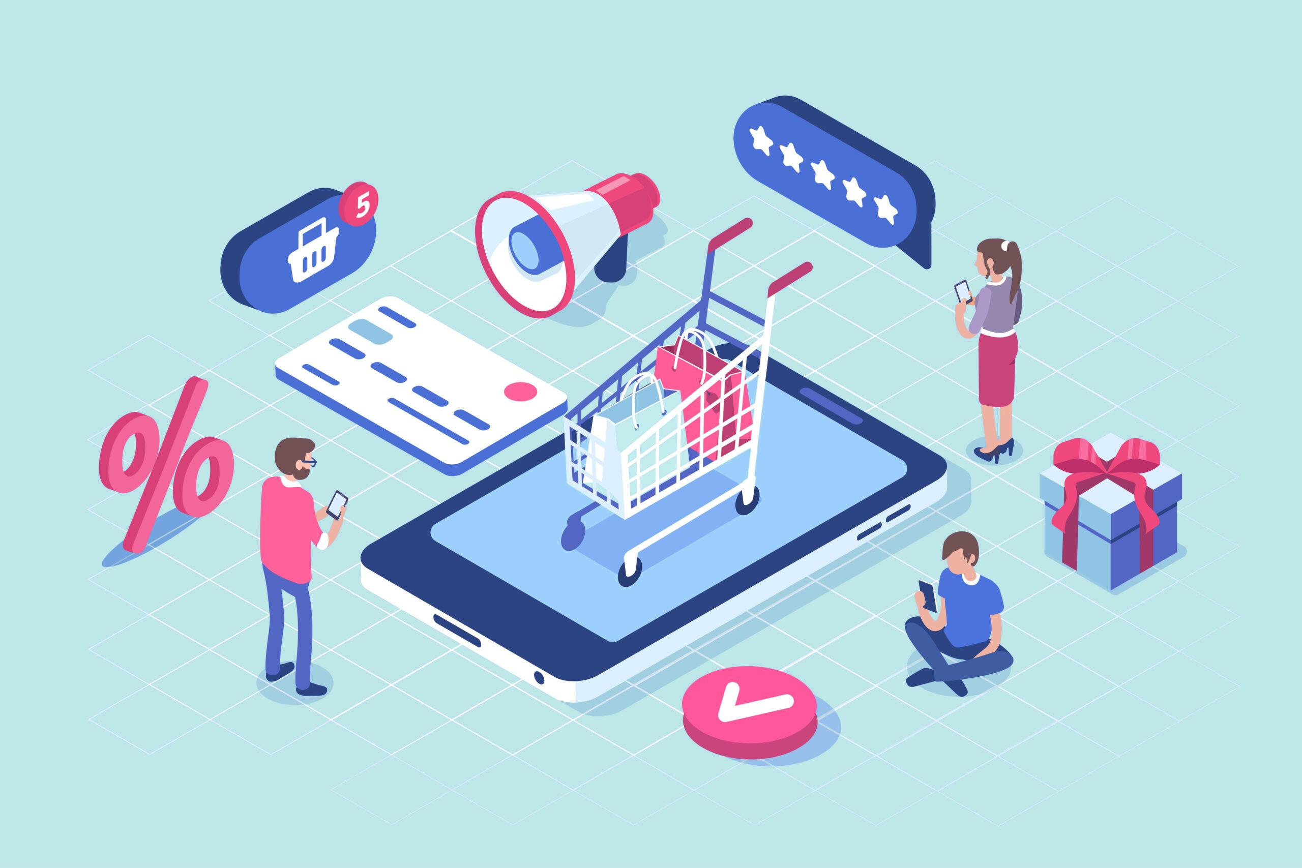 e-commerce real estate