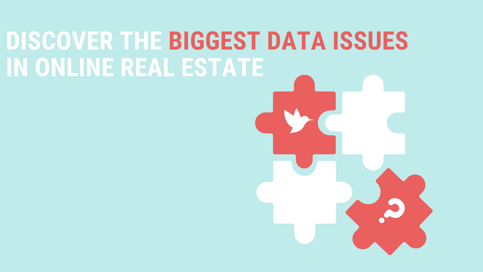 real estate data issues